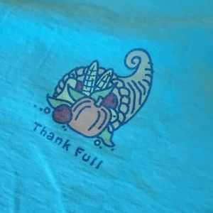 Thankful Life is Good Long Sleeve T Large